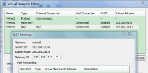 centos之minimal版本在虚拟机上使用NAT方式网络配置